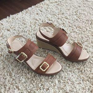 Rockport wedge sandals Excellent condition